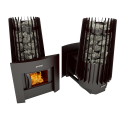 Печь Grill'D Cometa 180 window black