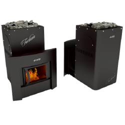 Печь Grill'D Fortuna 200 window black
