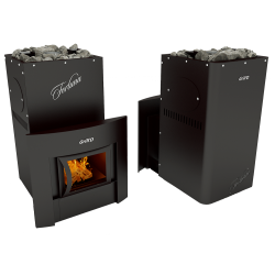 Печь Grill'D Fortuna 280 window black