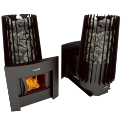 Печь Grill'D Cometa Vega 180 window black