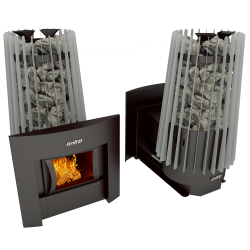 Печь Grill'D Cometa Vega 180 window grey