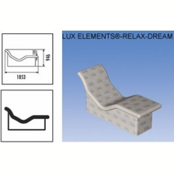 Лежак LUX ELEMENT RELAX DREAM