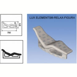 Лежак LUX ELEMENT RELAX FIGURA