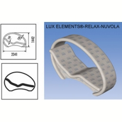 Лежак LUX ELEMENT RELAX NUOLA