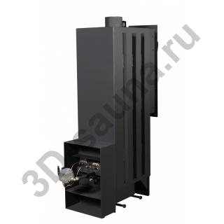 Печь для бани Тройка № 05РН-ГТ60 на газу - цены и характеристики | Купить в Москве, магазин 3D-sauna.ru