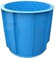 Пластиковая купель для бани и сауны