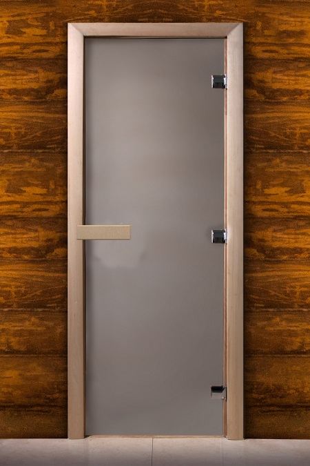 Дверь для сауны Maestro woods сатин 800х2000