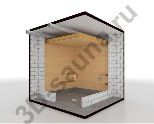 Этапы строительства сауны - установка доп. оборудования